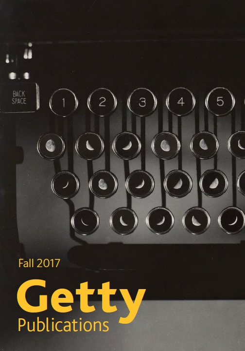 getty publications fall 2017