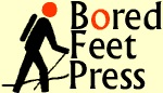 logo bored feet press